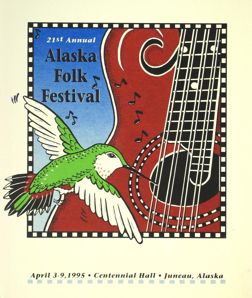 alaska folk festival poster